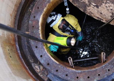 Confined Space Cleaning
